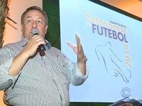 Cerimônia realiza lançamento oficial do Campeonato Catarinense - Cerimônia realiza lançamento oficial do Campeonato Catarinense