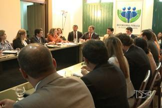 Reunião organiza planeja a segunda fase do mutirão carcerário - Próxima etapa acontecerá a partir do dia 27.