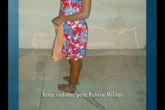 Uma mulher foi acorrentada pelo companheiro na Paraíba - O caso foi registrado no brejo do estado.