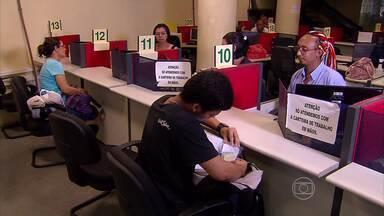 Levantamento mostra crescimento de 2,1% na geração de postos de trabalho em Pernambuco - Maior parte das vagas está num grupo específico de trabalhadores: os sem experiência.