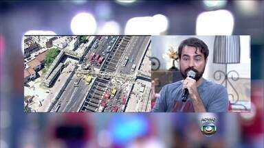 Ricardo Pereira comenta acidente na Linha Amarela - Ator acha que é possível evitar esse tipo de acidente com medidas preventivas