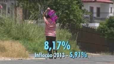 Sanepar quer reajuste da tarifa acima da inflação - Enquanto 2013 fechou com inflação de 5,91%, estatal quer aumentar a conta em 8,17%.