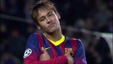 Neymar pode ter assinado pré-contrato com o Barça antes do prazo - Pai do craque faz pronunciamento sobre a polêmica do dinheiro da transação ao clube catalão