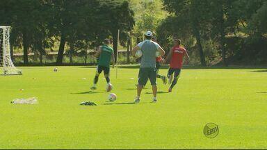 Caldense começa preparação para enfrentar o Cruzeiro pelo Mineiro - Caldense começa preparação para enfrentar o Cruzeiro pelo Mineiro