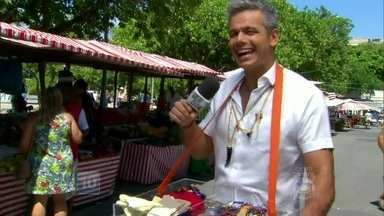 Vídeo Show se inspira em Joel de Joia Rara e vai atrás de amuletos da sorte - Elenco da Globo e o público contam o que usam para deixar o azar bem longe