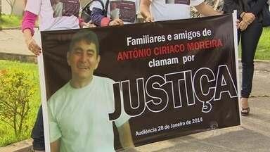 Julgamento da viúva do funcionário da Eletronorte assassinado foi adiado - A JUSTIÇA OUVIRIA HOJE A VIÚVA DO FUNCIONÁRIO DA ELETRONORTE ANTONIO CIRÍACO, ASSASSINADO EM MARÇO DO ANO PASSADO. ELA FOI DENUNCIADA PELO MINISTÉRIO PÚBLICO COMO MANDANTE DA MORTE.