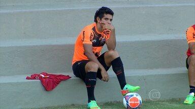 Substituto de R10 na estreia, Guilherme busca se firmar - Substituto de R10 na estreia, Guilherme busca se firmar