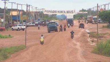 Moradores do sul do Amazonas montam comissão de gerenciamento de crise - Entregaram em Brasília um abaixo assinado pedindo a paz no campo e o fim do pedágio.