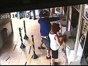 Casa lotérica é assaltada pela terceira vez em um mês - Os funcionários contam que os bandidos agem sempre da mesma forma.