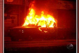 Carros são incendiados em Itabuna, no sul da Bahia - Casos começaram no início de janeiro, em Itabuna. Polícia ainda não tem informações do que está acontecendo.