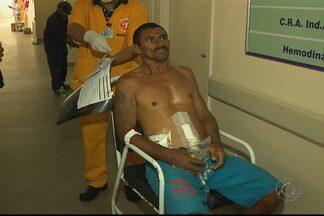 JPB2JP: Recapturado um dos presos que fugiram do Hospital de Trauma em Campina - Ele estava numa praça na área central da cidade.