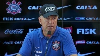 Corinthians cobra atitude e terá mudanças para o próximo jogo - Jogadores ainda estão cabisbaixos pela derrota por goleada no clássico