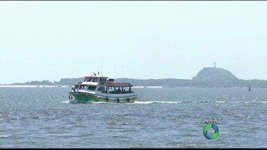 Redação Móvel mostra a Ilha do Mel - Manhã de sol perfeita marcou a primeira transmissão ao vivo, em HD, da ilha no litoral paranaense.