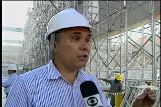 Ministro da Integração vistoria obras da transposição do Rio São Francisco - A visita está sendo feita no eixo norte das obras. Na última quinta-feira (30), o ministro Francisco Teixeira esteve em Cabrobó.