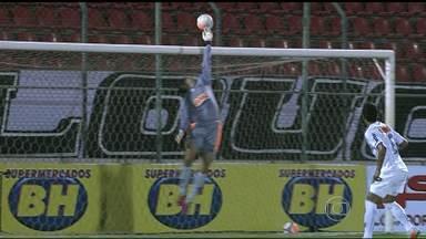 Goleiros são destaque na primeira rodada do Campeonato Mineiro - Primeira rodada do Campeonato MIneiro é marcada por belas defesas: goleiros são o destaque