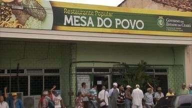 Restaurante popular de Fortaleza funciona nesta sexta pelo último dia - Governo do Estado passou o restaurante para responsabilidade da Prefeitura de Fortaleza.