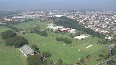 Veja as imagens aéreas do CT do Caju - Veja as imagens aéreas do CT do Caju