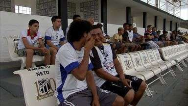 Itapipoca se hospeda na sede do Ceará - Vovô lançou camisa do centenário nesta quinta-feira.