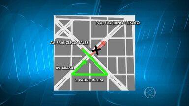 Cruzamento das avenidas Francisco Sales com Brasil tem alteração de trânsito em BH - A partir da próxima terça-feira (4), motoristas que passam pela Avenida Francisco Sales não poderão virar à esquerda na Aveniada Brasil.