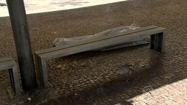 Dois moradores de rua são mortos no centro de Belo Horizonte - Segundo polícia, suspeitos dos assassinatos é um adolescente que tem na ficha criminal outros quinze homicídios.