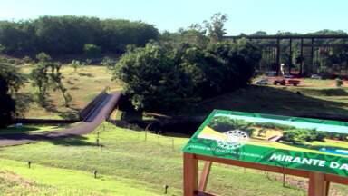 Jardim Botânico de Londrina tem novas atrações para os visitantes - A área de lazer deve ficar pronta até o fim de 2014.