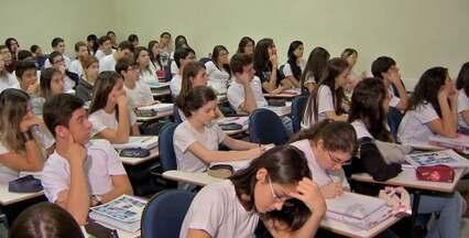 Vagas para medicina aumentam em MS - O curso de medicina é o mais concorrido do Brasil. Conforme o Ministério da Educação, são mais de sessenta e dois candidatos por vaga no Sistema de Seleção Unificado (Sisu). Em Mato Grosso do Sul, foram criadas mais vagas para o curso.