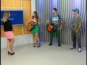 Banda Rock de 2 participa do Jornal do Almoço - Eles fazem show na noite deste sábado, em Uruguaiana, RS.