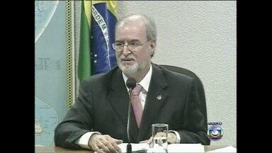 """Procurador-geral da República pede condenação do deputado Eduardo Azeredo - O deputado federal é acusado de participar do chamado """"mensalão do PSDB mineiro"""", um esquema de desvio de recursos públicos, quando era governador de Minas Gerais."""