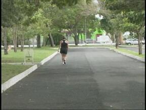 Após semanas de temperaturas elevadas, calor dá trégua em Uruguaiana, RS - População comemorou a mudança no tempo.