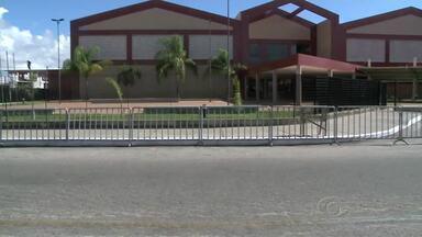 Forte esquema de segurança é montado para chegada da presidente Dilma Rouseff - A presidente vai chegar a Alagoas e participará de um evento no Centro de Convenções.