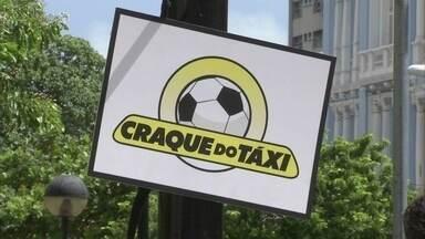 Segunda etapa do ' Craque do Táxi' desafia o conhecimento dos cearenses sobre a Copa - O quadro do Esporte Espetacular para em Fortaleza para testar os taxistas com perguntas sobre futebol, e assim, escolher o profissional mais craque das 12 cidades sede da Copa do Mundo de 2014.