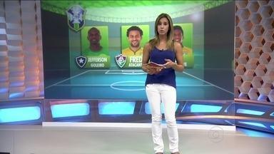 Jefferson e Fred são os representantes do Rio de Janeiro na lista de convocados de Felipão - Jogadores vão disputar amistoso contra a África do Sul.