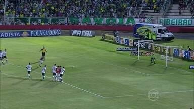 Confira um giro de gols pelos Campeonatos Estaduais - Palmeiras perdeu a invencibilidade no Paulista e Remo é campeão do primeiro turno no Pará.