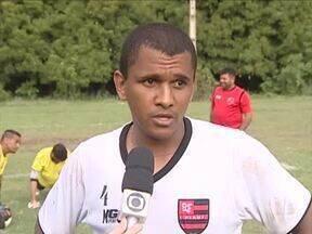 Flamengo-PI se prepara para jogar contra o Parnahyba-PI no estádio Lindolfo Monteiro - Flamengo-PI se prepara para jogar contra o Parnahyba-PI no estádio Lindolfo Monteiro
