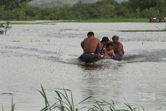 Três morrem afogados em lago de Pindaré Mirim - Vítimas atravessavam lago em uma embarcação que naufragou após pane no motor.