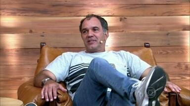 Humberto Martins é o convidado do Vídeo Show - Com mais de 25 anos de carreira, o ator divide o palco com Zeca Camargo