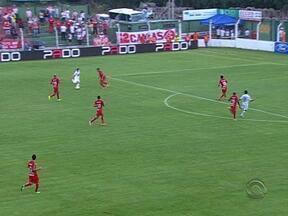 Inter perdeu por 1 a 0 para o Veranópolis nesse domingo pelo Gauchão - Jogo aconteceu pela décima rodada do campeonato.