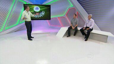 Rogério Corrêa, Bob Faria e Márcio Rezende comentam a virada do Galo no clássico. - Rogério Corrêa, Bob Faria e Márcio Rezende comentam a virada do Galo no clássico.
