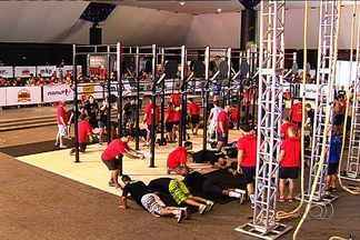 Campeonato de crossfit movimenta fim de semana em Goiânia - Cidade recebeu competição da modalidade, inspirada em exercícios militares