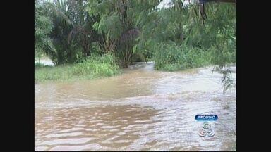 Guajará-Mirim e Rolim de Moura estão em estado de emergência - Os municípios estão praticamente ilhados.