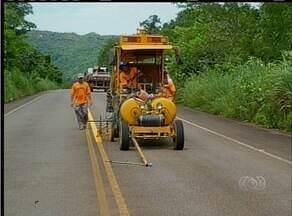 'Curva da Morte' em Taquaruçu recebe nova sinalização - 'Curva da Morte' em Taquaruçu recebe nova sinalização