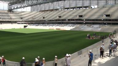 Atlético já define data de entrega da Arena da Baixada para a Copa do Mundo - Também serão contratados mais operários para concluir o estádio