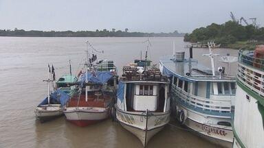 Operação da Marinha apreende 28 embarcações em Macapá - A operação da Marinha apreendeu 28 embarcações em Macapá.