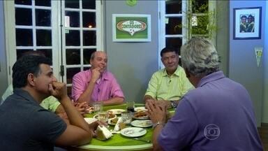 'Os Contadores' relembram histórias inusitadas de viagens no futebol - Joel Santana, Túlio, Raul Plasmann e Ricardo Rocha contam casos inusitados.