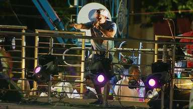 Circuito do Campo-Grande abre espaço para o Arrocha na última segunda-feira - O cantor Pablo foi uma das atrações que se apresentaram no circuito.