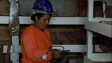 Mulheres mostram como fazem para trabalhar sem deixar de lado a vaidade - O quadro 'Ao Trabalho' mostra como como as mulheres fazem para trabalhar sem deixar de lado a vaidade.
