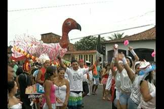 Bloco 'Rabo do Peru' desfila em Icoaraci nesta quarta-feira - Bloco sai nas ruas do distrito de Belém há 19 anos.