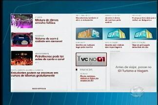 Telespectadores e internautas interagem através do VC no G1 - Através da ferramenta, as pessoas podem enviar fotos, vídeos e denúncias.