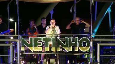 Três Rios, RJ, recebe show de Netinho - Foi a primeira apresentação do cantor depois de quase um ano longe dos palcos, por causa de um grave problema de saúde.