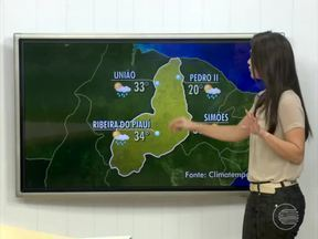 Confira a previsão do tempo para hoje em todo o Piauí - Confira a previsão do tempo para hoje em todo o Piauí